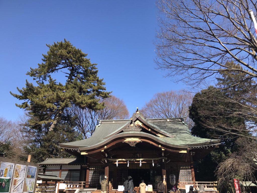 2月3日・調布の布多天神社節分祭に清水基嗣とベアー福田が参加!