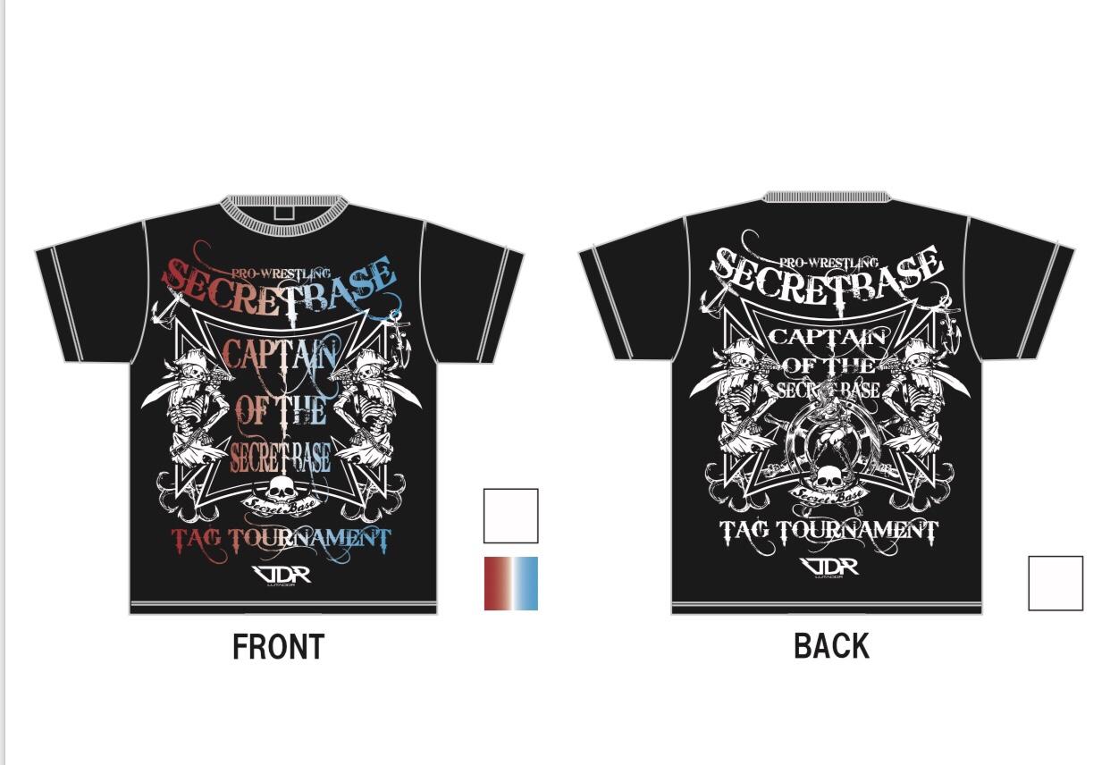4月8日の新宿FACE大会より最新Tシャツが登場!