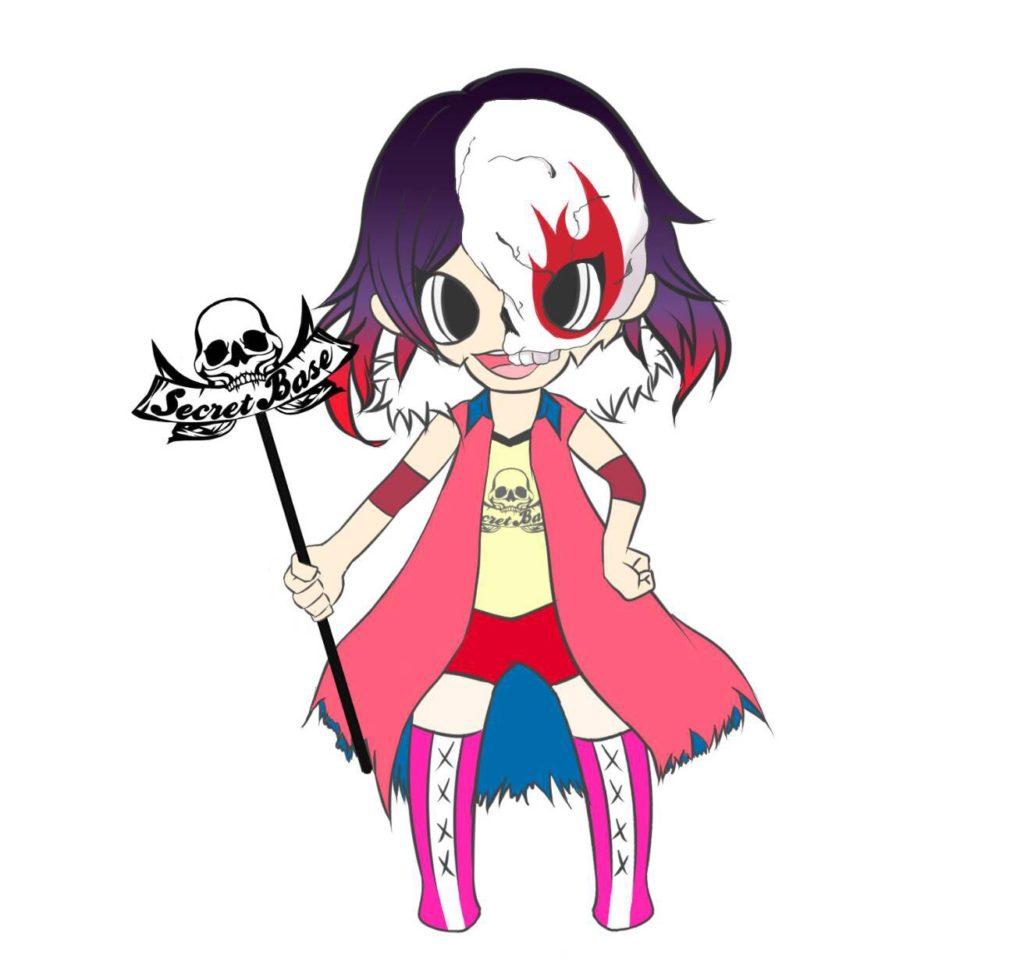 プロレスリングSECRET BASEのマスコットキャラクターが誕生!