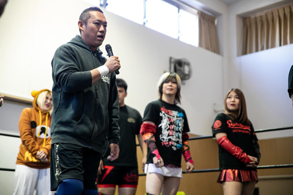 12月8日・調布はあとふるホール大会試合結果